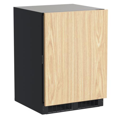 24-In Professional Built-In Freezer With Reversible Door with Door Style - Panel Ready