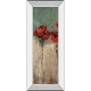 """Scarlett Garden Il"" By Luis Solis Mirror Framed Print Wall Art"