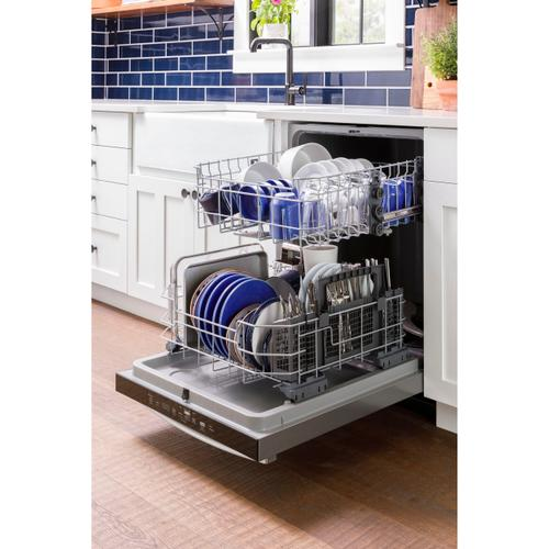 GE Appliances - GE® Top Control with Plastic Interior Dishwasher with Sanitize Cycle & Dry Boost