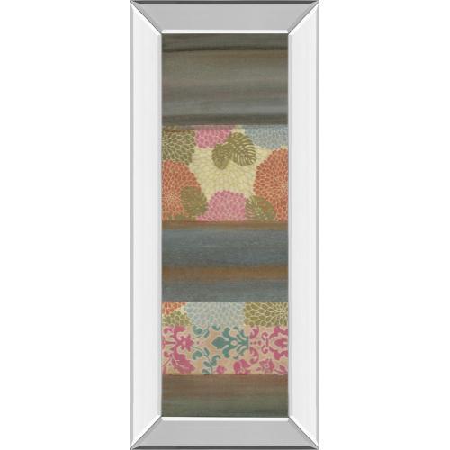 """""""Pretty In Pink III"""" By Willie Green-Aldridge Mirror Framed Print Wall Art"""