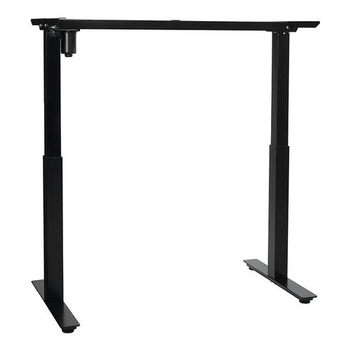 "48""w Single-motor Height Adjustable Base, Black"
