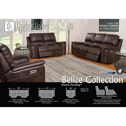Bellamy Cafe Power Sofa
