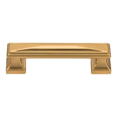 Wadsworth Pull 3 3/4 Inch (c-c) - Warm Brass