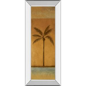 """Golden Palm I"" By Jordan Grey Mirror Framed Print Wall Art"