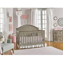 Fisher-Price Haley Convertible Crib, Vintage Grey