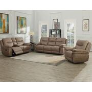 Isabella Sand 3 Piece Motion Set (Sofa, Loveseat & Chair) Product Image