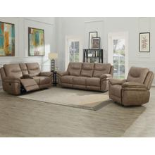 Isabella Sand 3 Piece Motion Set (Sofa, Loveseat & Chair)