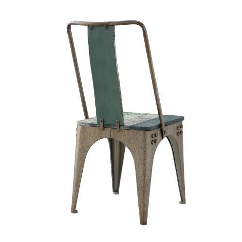 Metal Legs Side Chair, Colorful