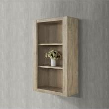 "River View 20x9"" Hutch - Toasted Almond"