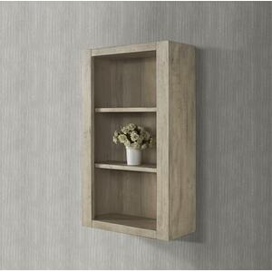 """River View 20x9"""" Hutch - Toasted Almond"""