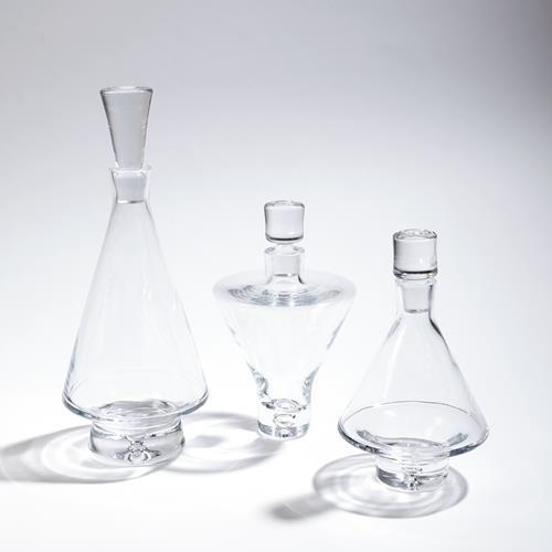 Fat Bottom Decanter-Clear