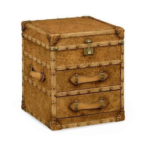 Jonathan Charles - Steamer Chest of Drawers