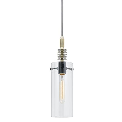 60W Glass Pendant Fixture (Edison Bulb Not included)