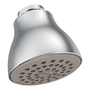 "Moen chrome one-function 2-1/2"" diameter spray head eco-performance showerhead Product Image"