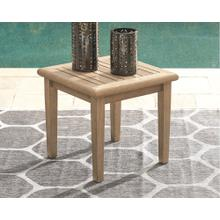 Gerianne Square End Table Grayish Brown