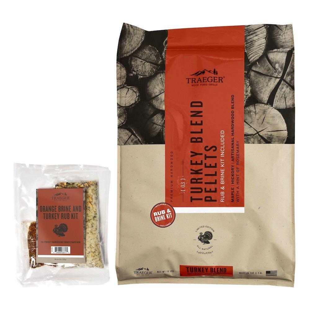 Limited Edition Turkey Blend Wood Pellets + Brine Kit