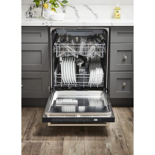 24 Inch Built-in Dishwasher In Stainless Steel