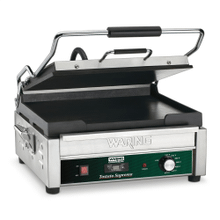 "Full Size 14"" x 14"" Flat Toasting Grill with Timer - 120V"