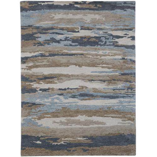 Amer Rugs - Abstract ABS-5 Water Blue