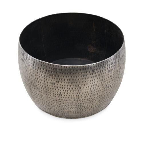 Dreyfus Silver Drum With Storage