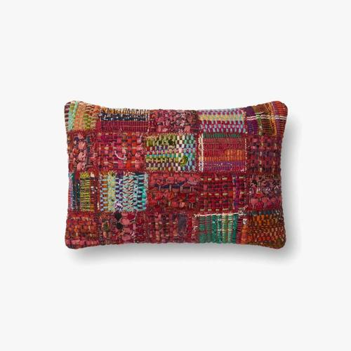 P0535 Red / Multi Pillow