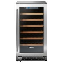 18 Inch Single Zone Built-in/freestanding Wine Cooler, 40 Wine Bottle Capacity