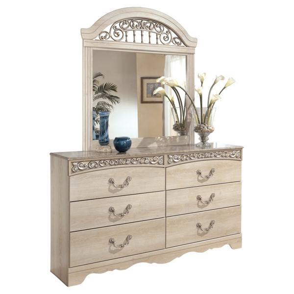 Catalina Dresser and Mirror
