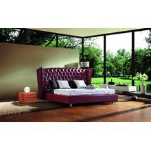 Modrest 500R - Transitional Eco-Leather Bed
