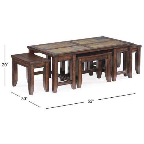 Allister Rectangular Cocktail Table