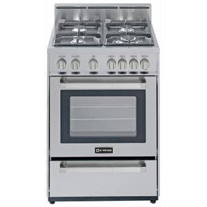 """Stainless Steel 24"""" Gas Range Product Image"""