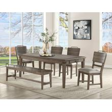 Ryan 6 Piece Set(Table, Bench & 4 Side Chairs)