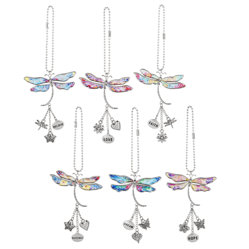 Dragonfly Dreams Car Charms (12 pc. ppk.)