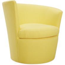 U107-01swlf Wave Outdoor Left Arm Facing Swivel Chair