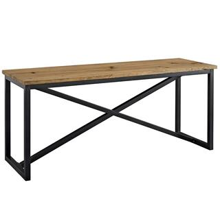 See Details - Traverse Wood Stand in Brown