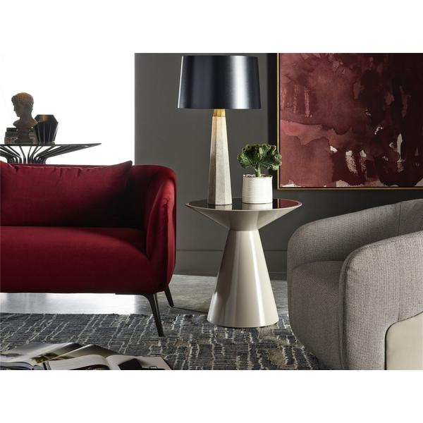 See Details - Roni Round Accent Table