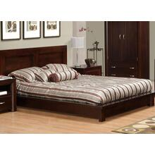 Contempo Double Platform Bed (With Euro Slat System)