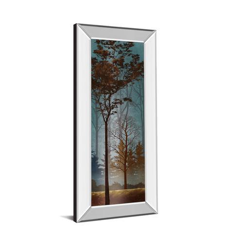 """Fading To Dusk I"" By Conrad Knutsen Mirror Framed Print Wall Art"