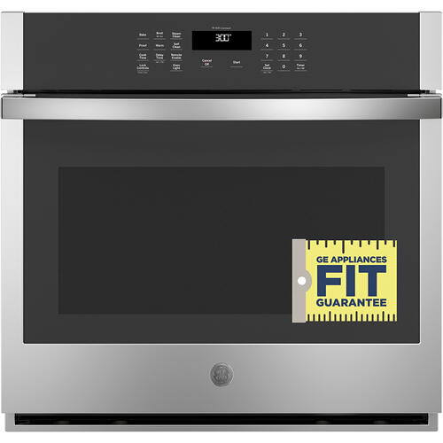 "GE 30"" Built-In Single Wall Oven Stainless Steel - JTS3000SNSS"