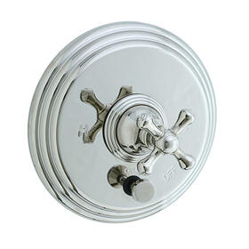 Asbury - Pressure Balance Mixing Valve Trim - Polished Nickel