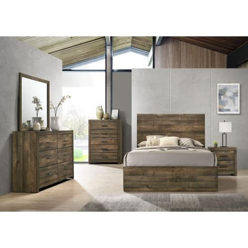 Bailey Queen Panel Bed
