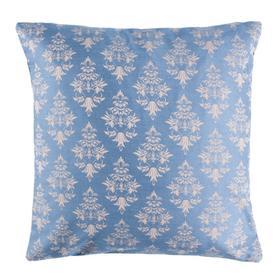 Seanna Pillow - Blue/tan