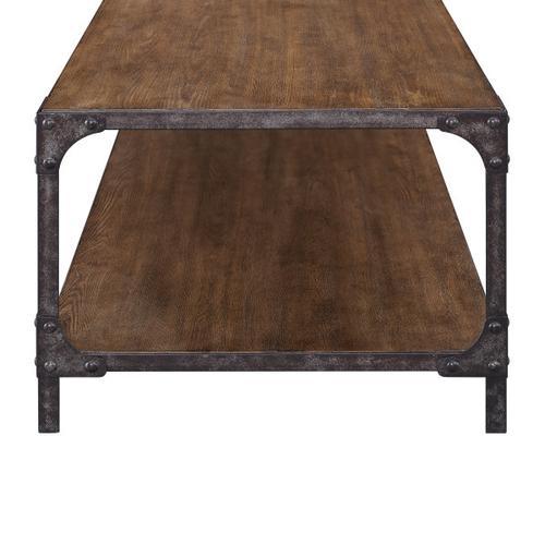 Irwin Wood & Metal Cocktail Table