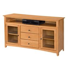 "TV Console 62"" Flush Top"