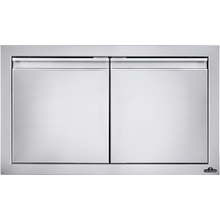 """See Details - 30"""" x 16"""" Small Double Door , Stainless Steel"""