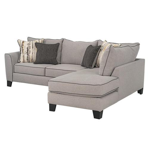 Nicolette Upholstered Left Arm Facing Sofa, Cement