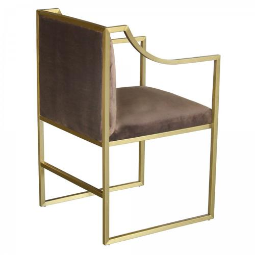 Armen Living Seville Contemporary Dining Chair