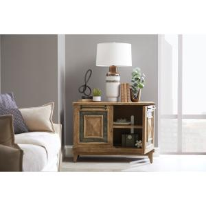 Accentrics Home - Rustic Stone Insert Two Door Chest