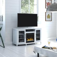 "Rossville TV Stand for TVs up to 60"" with Electric Fireplace"
