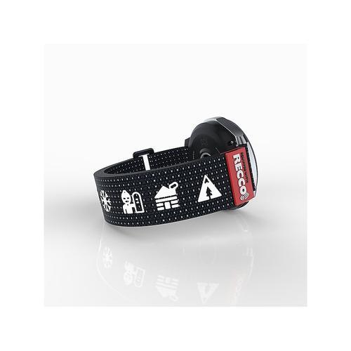 RECCO® Rescue Reflector band for Galaxy Watch 42mm & Gear Sport, Black
