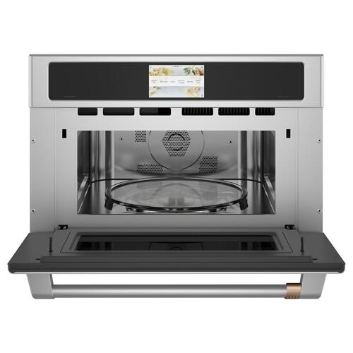 "Cafe 30"" Smart Five in One Wall Oven with 240V Advantium ® Technology"